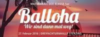 Balloha - Wir sind dann mal weg!@Dreifachturnhalle