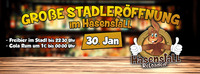 Große Stadtleröffnung im Hasenstall@Hasenstall