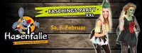 Hasenfalle Faschingsparty XXL@Hasenfalle