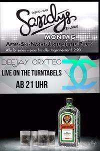 After-Ski-Nacht Jägermeister-Parrty@Sandys