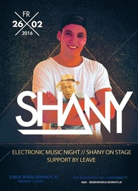 Dj Shany Live #johnnysclub@Johnnys - The Castle of Emotions