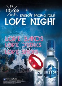 Eristoff Love Night #johnnysclub@Johnnys - The Castle of Emotions