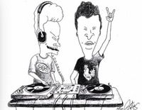 Beavis and Butthead - and the Timemaschine@Jederzeit Club Lounge