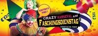 Crazy Karneval am FASCHINGSDIENSTAG ab 14:00 Uhr geöffnet@Disco P2
