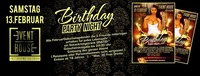 BIRTHDAY PARTY NIGHT@Eventhouse Freilassing