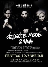 Depeche Mode & Wave | Schwarze Nacht @Opal