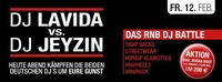 DJ LaVida vs. DJ Jeyzin@Cube One