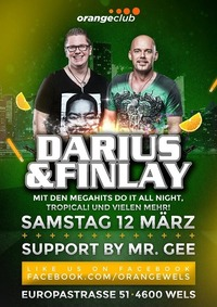 Darius & Finlay Orange Club WELS
