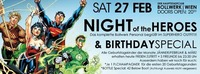 Night of the Superheroes – Die Invasion & Birthday Special@Bollwerk
