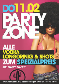 Party Zone@Kaktus Bar