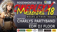 Maskenball 18 @ Cineplexx Hohenems@Nachtschicht