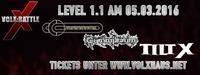 VolX:Battle Level 1.1 Konzert mit Concrete Eden, Gummibaum und Tilt X@Volxhaus - Klagenfurt