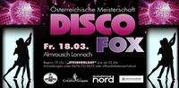 Österreichische DISCOFOX Meisterschaft mit