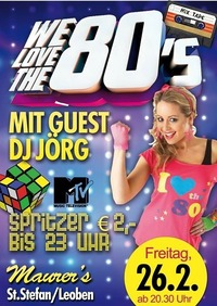WE LOVE THE 80ies@Maurer´s