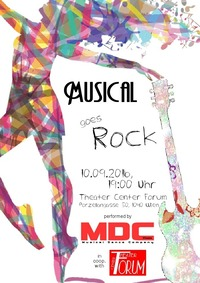 Musical goes Rock@Theater-Center-Forum