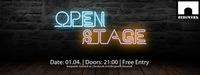 OPEN STAGE @Bergwerk@Bergwerk