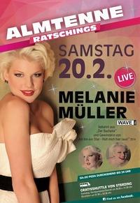 MELANIE MÜLLER - Live Almtenne@Almtenne Racines