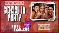 SCHOOL IN ft.DJ TIM TAILOR@Charly's