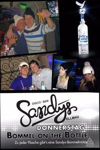 Bommel on the Bottle!@Sandys