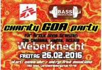 BASSPRODUCTION Charity GOA-Party für Ärzte ohne Grenzen (Psytrance)@Weberknecht