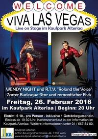 Welcome Viva Las Vegas@Kaufpark Alt-Erlaa
