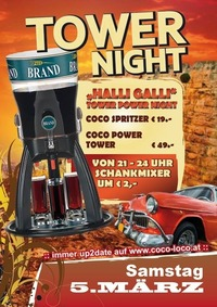 POWER TOWER NIGHT@Disco Coco Loco