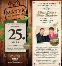 Wiener Zither & Wiener Mundwerk@Mayer Am Pfarrplatz