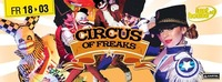 CIRCUS OF FREAKS@Lusthouse