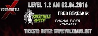 VolXBattle Level 1.2 - Spectacle Sheep vs Pagan Piper Project vs Fred Boneskin@Volxhaus - Klagenfurt