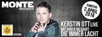 DIE IMMER LACHT - Kerstin Ott LIVE@Monte