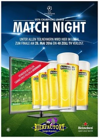 HEINEKEN MATCH NIGHT@1 EURO BAR
