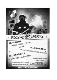 Backdraftclubbing- Feuerwehrfest FF-Hollern@Feuerwehrhaus Hollern