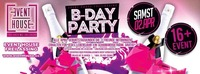 B-Day Bash April 2016@Eventhouse Freilassing