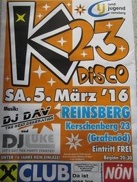 K23- Disco@Partylocation