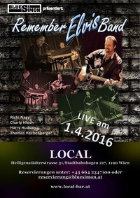 REMEMBER ELVIS BAND  im Local@Local - BAR | LIVE | MUSIK