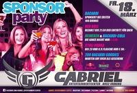 Sponsor PARTY@Gabriel Entertainment Center
