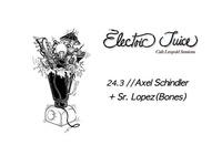 ELECTRIC JUICE // Axel Schindler x Sr. Lopez@Café Leopold
