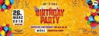 ☆ BIRTHDAY PARTY ☆ im Club Privileg@Club Privileg