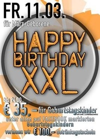 Happy Birthday XXL@Spessart