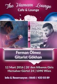 Ferman Ölmez & Gitarist Gökhan@The Hamam Lounge