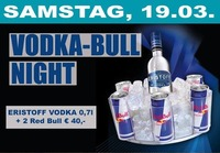 VODKA BULL NIGHT@Crazy