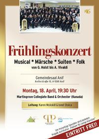 Frühlingskonzert in Anif@Anifer Gemeindesaal