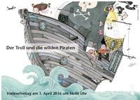 Vorlesefreitag: Der Troll und die wilden Piraten@Facultas Dombuchhandlung