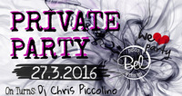 PRIVATE PARTY@Disco Bel