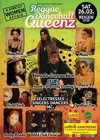 QUEENS OF REGGAE/DANCEHALL a strictly women affair@Reigen