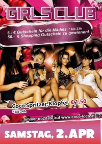 GIRLS CLUB@Disco Coco Loco