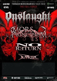 Onslaught, Mors Principium Est, No Return, Blaakyum@Viper Room