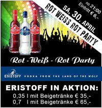 Rot Weiss Rot Party@Mausefalle