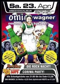 Omi Wagner Promo Night@Excalibur