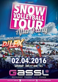 Snow Volleyball Tour After Party@Gassl